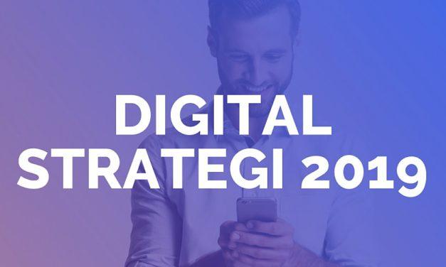 Digital strategi 2019