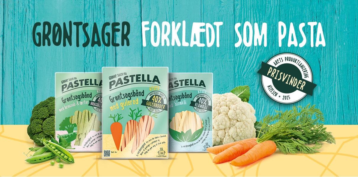 Pastella Grøntsagsbånd – Årets produktlancering