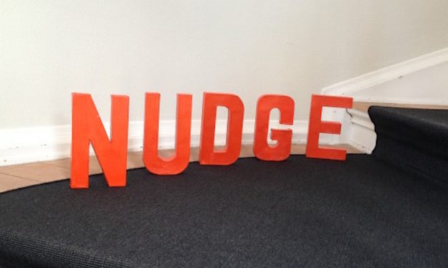 Nudge designs implemented: How to push people to joyfulness