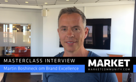 Masterclass Interview om Brand Excellence: Martin Bochineck, CEO og co-founder af Magnetix