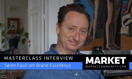 Masterclass Interview om Brand Excellence med filminstruktør Søren Fauli