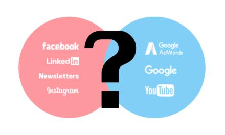 Hvor får du mest for marketingkronerne? Google vs. SoMe