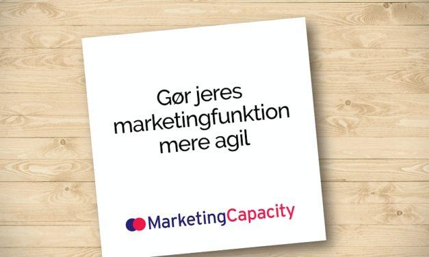 Gør jeres marketingafdeling mere agil