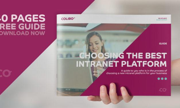 Guide: Sådan vælger du den bedste intranetplatform til din virksomhed.