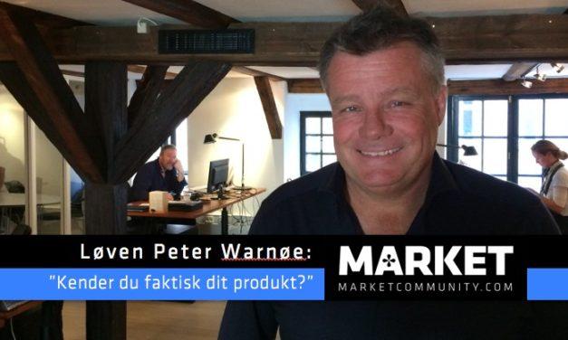 Løve og investor Peter Warnøe melder klart ud