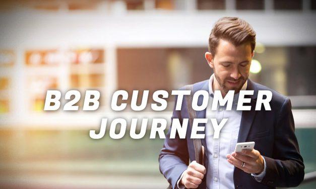Sådan kortlægger og styrker du din B2B-kunderejse!