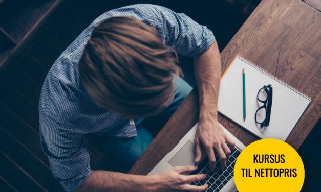Tekst kursus: Lær at skrive, så du kan sælge hvad som helst!
