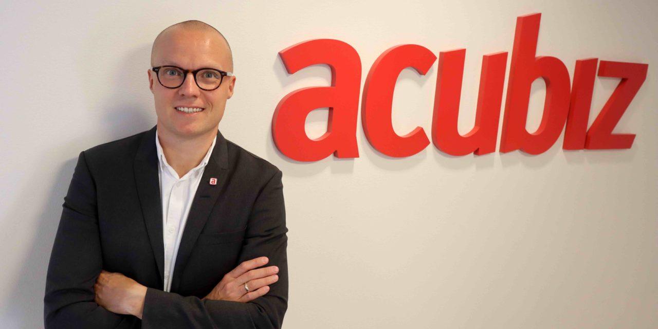 """CMO Anders Friis, Acubiz: """"Målgrupper er vigtige, men BtB i mindre virksomheder handler… """""""