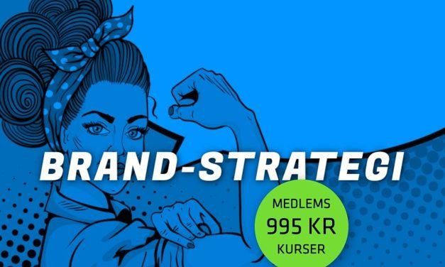 Kursus: Lær at definere et unikt brand og at markedsføre det med succes
