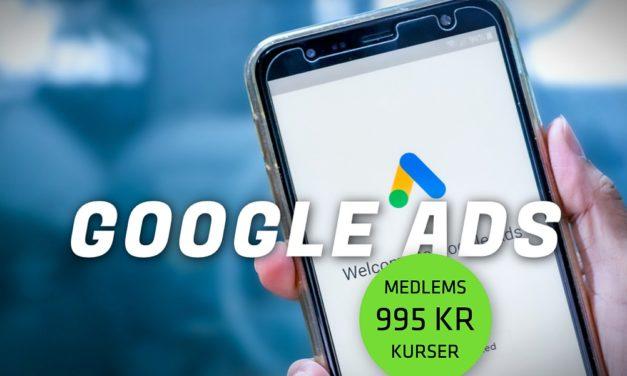 Kursus: Lær at mestre Google Ads kampagner og annoncering