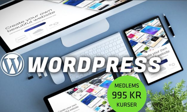 Kursus: Lær at bygge og opdatere websites i WordPress