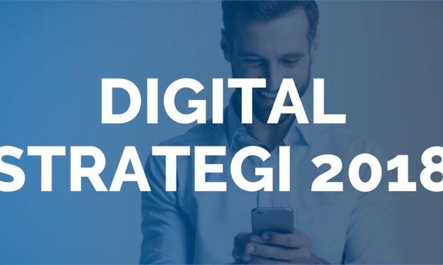Digital strategi 2018