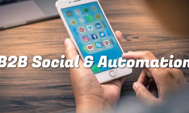 B2B Social Marketing og Marketing Automation i praksis