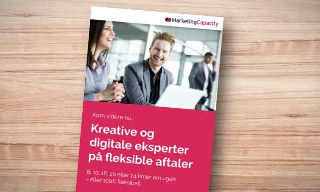 Kreative og digitale eksperter på fleksible aftaler
