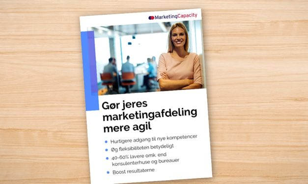 Gør jeres marketingafdeling mere agil!