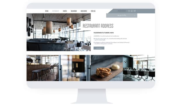 Digital strategi & website for Restaurant Address
