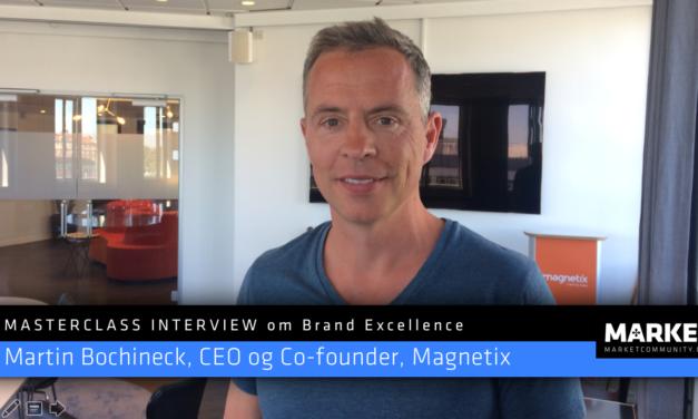 Masterclass Interview om Brand Excellence: Martin Bochineck, CEO og co-founder af Magnetix