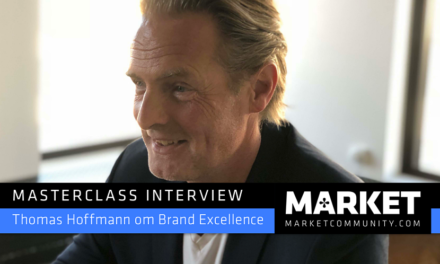 Masterclass Interview om Brand Excellence: Thomas Hoffmann kreativ direktør og partner, &Co