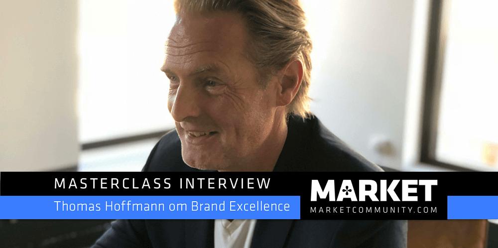 Masterclass Interview om Brand Excellence: Thomas Hoffmann kreativ direktør og partner, &Co