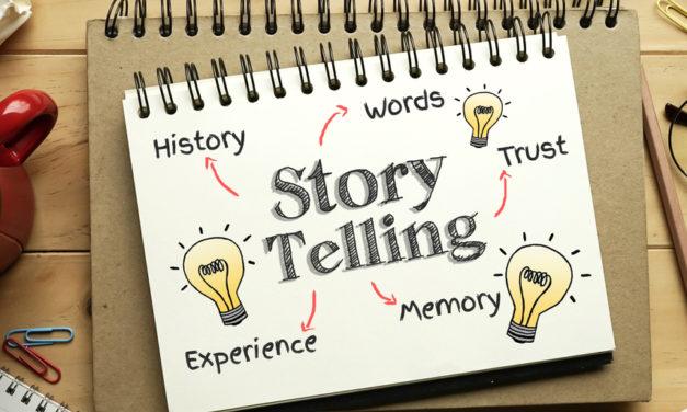 Hvilken slags storytelling skaber brand equity online?