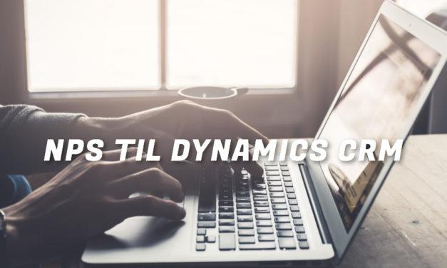 Premiere:  Loyalitetsløsning til Microsoft Dynamics CRM!
